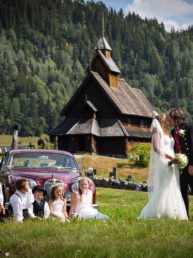 Eidsborg Stave Church, wedding